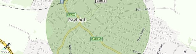 Map of Rayleigh
