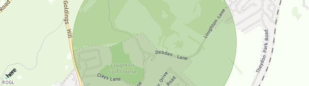 Map of Loughton