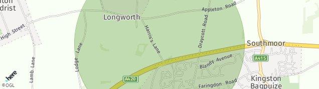 Map of Longworth