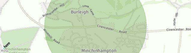 Map of Burleigh