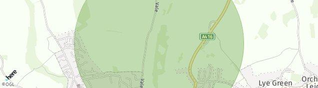 Map of Chesham