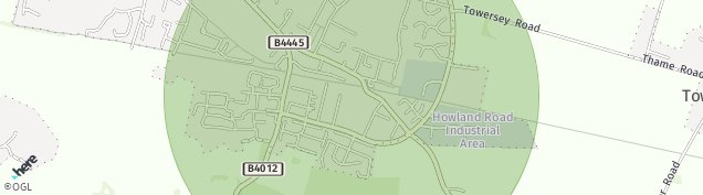 Map of Thame