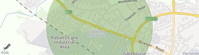 Map of Aylesbury