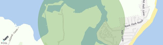 Map of Walton On The Naze