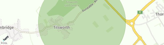 Map of Tilsworth