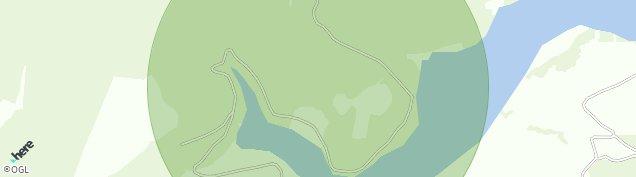 Map of Rhandirmwyn