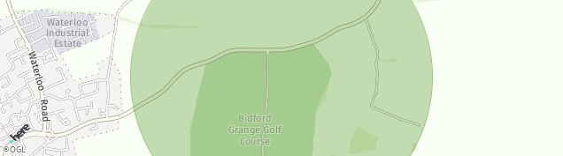 Map of Bidford-on-Avon