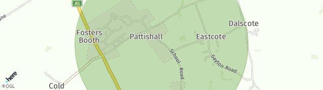 Map of Pattishall