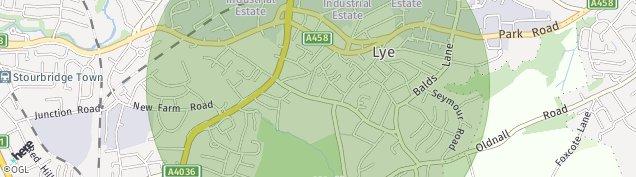 Map of Lye