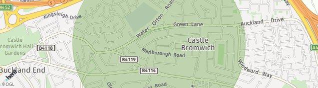 Map of Birmingham