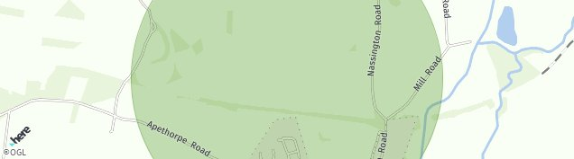 Map of Nassington