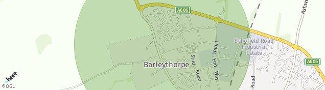 Map of Barleythorpe
