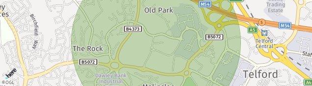 Map of Lawley Village