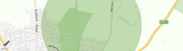 Map of Melton Mowbray