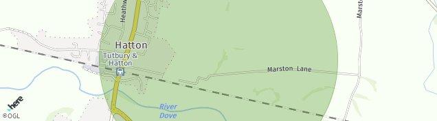 Map of Hatton
