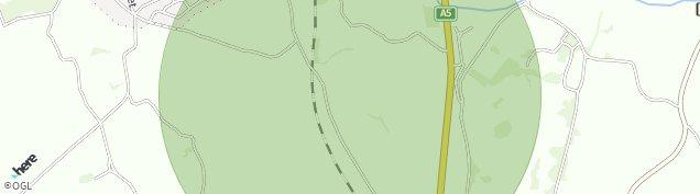 Map of Weston Rhyn