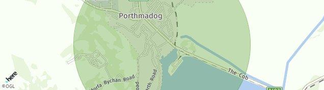 Map of Porthmadog