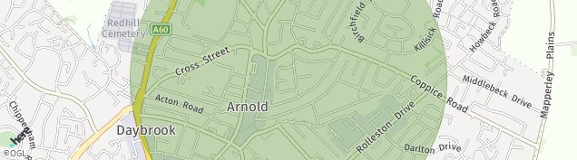 Map of Arnold