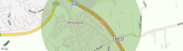 Map of Pinxton
