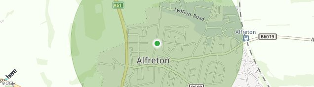 Map of Alfreton