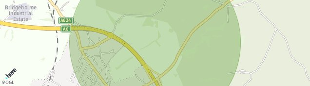 Map of Chapel-En-le-Frith