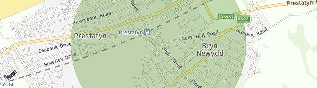 Map of Prestatyn