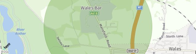 Map of Wales Bar