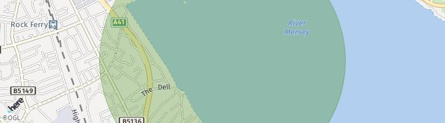 Map of Birkenhead