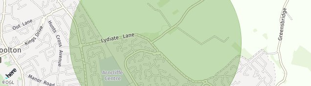 Map of Woolton