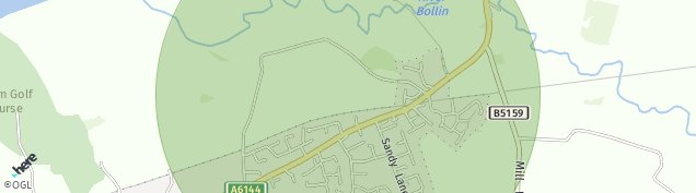 Map of Lymm