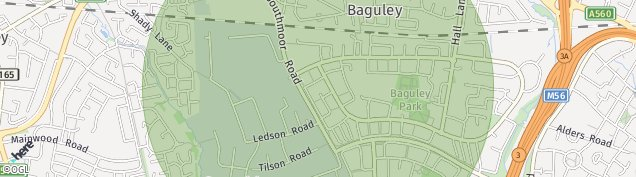 Map of Timperley