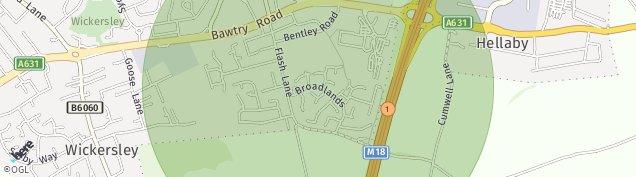 Map of Bramley