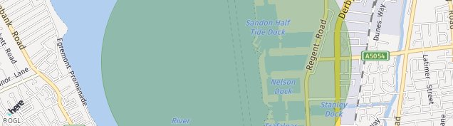Map of Wallasey