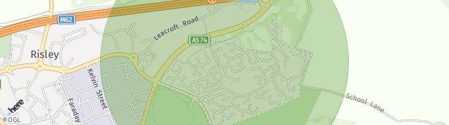 Map of Birchwood