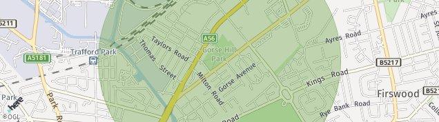 Map of Stretford