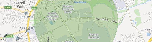 Map of Walton
