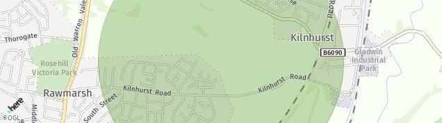 Map of Rawmarsh