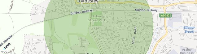Map of Astley