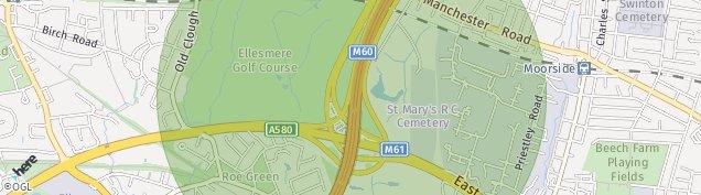 Map of Worsley