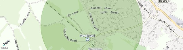 Map of Wombwell