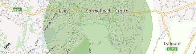 Map of Springhead