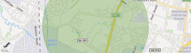 Map of Chadderton