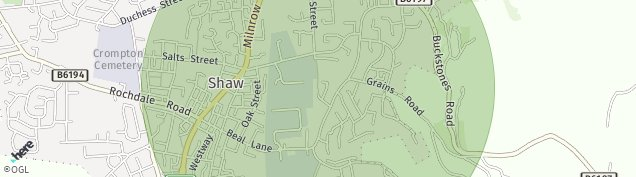 Map of Shaw