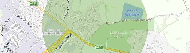 Map of Lostock