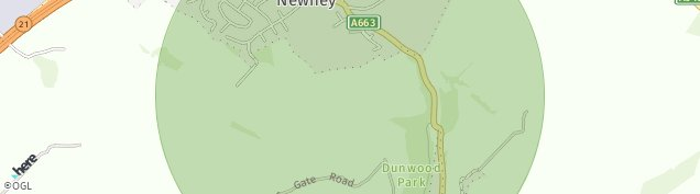 Map of Newhey