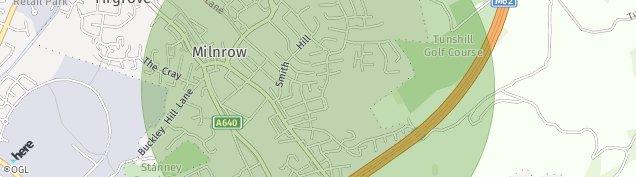 Map of Milnrow