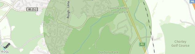Map of Chorley