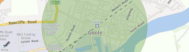 Map of Goole