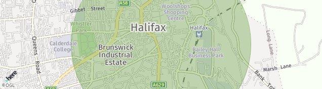 Map of Halifax