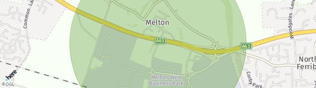 Map of Welton